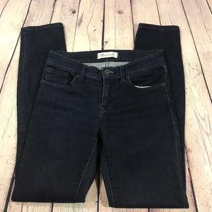 Madewell Skinny Dark Wash Jean Size 24
